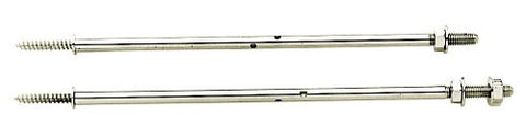 Golden Gate P-170 Banjo Coordinator Rods For Tube and Plate Flange - Nickel-Plated Steel
