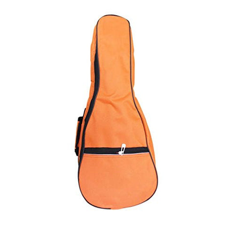 21 Inch Top Quality Ukulele Case 5MM Padding with Adjustable Straps,Orange