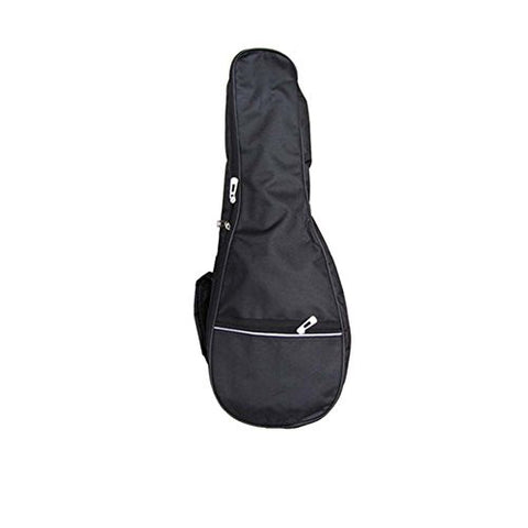 21 Inch Top Quality Ukulele Case 5MM Padding with Adjustable Straps,Black