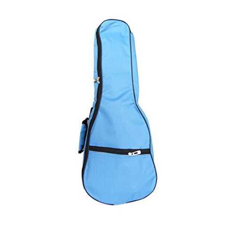 21 Inch Top Quality Ukulele Case 5MM Padding with Adjustable Straps,Blue