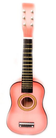 "23"" Childrens Toy Pink Acoustic Guitar :String Instrument"