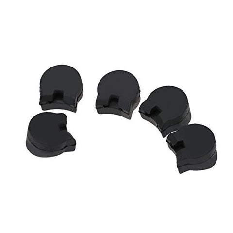 CynKen 5pcs Practical Rubber clarinet Finger Cushions Black