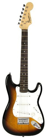 Squier by Fender Limited Edition Mini Strat Electric Guitar - Sunburst