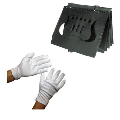 Marching Class Pack - 10 pairs of gloves and 10 flip folders