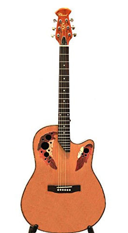 Acoustic Guitar Chard iVA01 Round Back with Spruce top, Fingerboard Rosewood