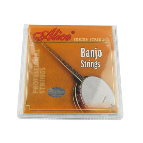 Musiclily Alice Coated Copper Wound 4-String Banjo Strings Set(Set of 10)