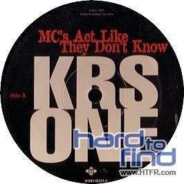 MC's Act Like They Don't Know [Vinyl]