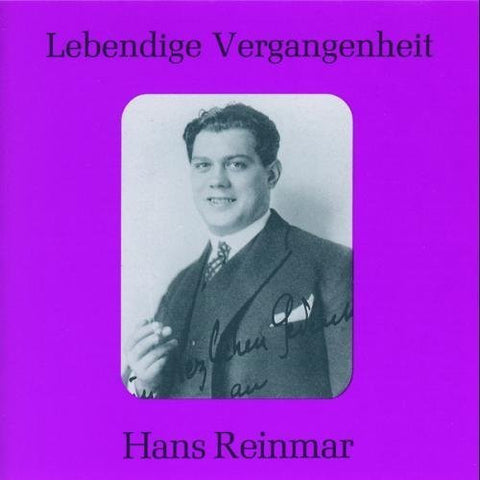 Arias by Reinmar, Hans (1996-02-20)