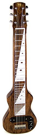 Morrell JM Pro Poplar Body 6-String Lap Steel-Vintage Brown