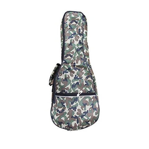 21 Inch Top Quality Ukulele Case 5MM Padding with Adjustable Straps,Camouflage Color