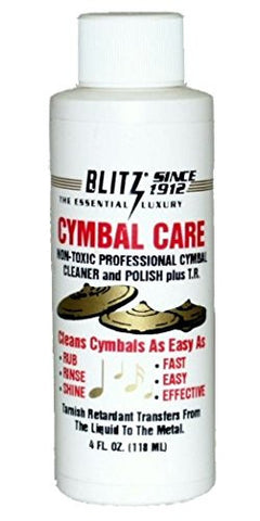 Blitz Music Care 336-4x Cymbal Care, Pack of 4