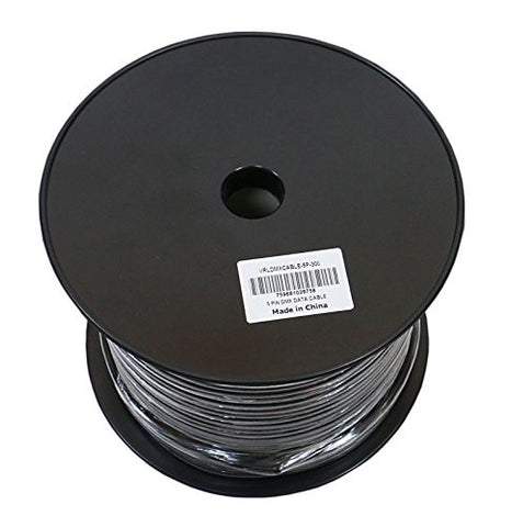 Elite Core VRLDMXCABLE-5P-300 VRL and 5 Pin DMX Cable 300-Feet Bulk Spool