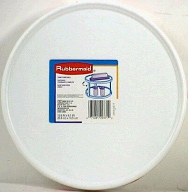 Rubbermaid 2937-RD-WHT Twin Turntable