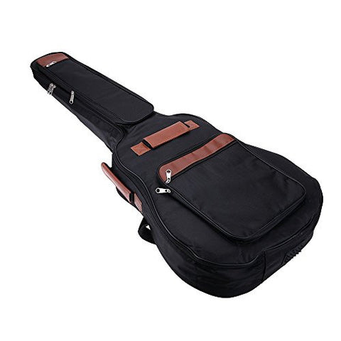"1Pc 41"" Guitar Backpack Shoulder Straps Pockets 8mm Cotton Padded Gig Bag Case"