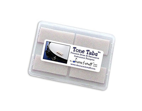 Tone Tabs - Premium Drum & Percussion Instrument Dampers (Reusable Over & Over)