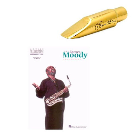 Legends Series James Moody Mouthpiece Deluxe - Includes The James Moody Collection Book