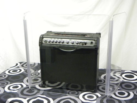 "Amp Acrylic Shield 48"" Wide X 48"" Tall Guitar Amp"
