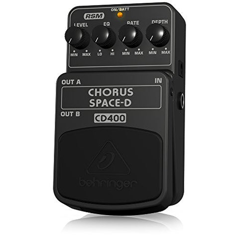 Behringer CD400 Chorus Space-D Digital 3-Dimensional Sound Effects Pedal