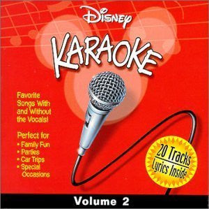 Disney Karaoke 2 by Various Artists (2000-04-04?