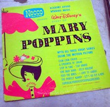 Walt Disney's STORY OF MARY POPPINS - Academy Award Winning Music - (LP Vinyl)