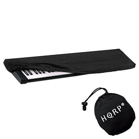 HQRP Elastic Keyboard Dust Cover for Alesis 76-Key 88-Key Q88 Digital Piano Synthesizer + HQRP Coaster