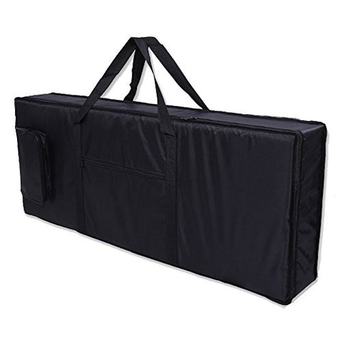 Sel Natural 61 Key Keyboard Electronic Piano Bag Case Carry Oxford Cloth Black