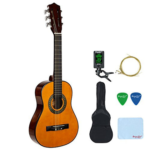 Strong Wind 30 inch 1 2 Size Children Nylon String Classical Guitar Acoustic Starter Kit
