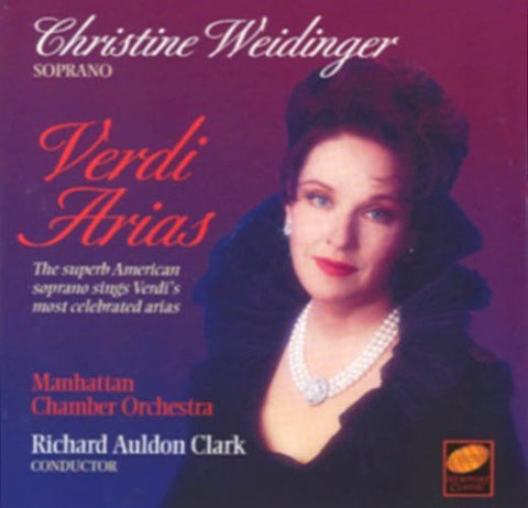 Christine Weidinger - Verdi Arias by Unknown (1996-10-29)