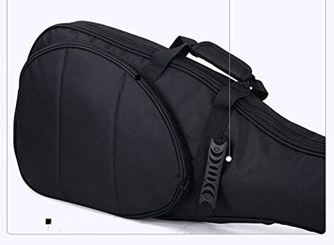 125cm Astraea 600D Waterproof 10mm Padded Double Straps Electric Bass Bag Soft Case Backpack