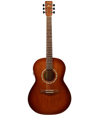 A&L Folk Cedar Antique Burst QI Acoustic Guitar