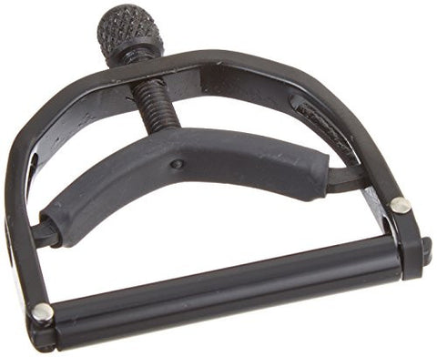 Paige Musical PBEW Banjo/Mandolin Capo-Fits up to the 4th Fret on a 5-String - Black