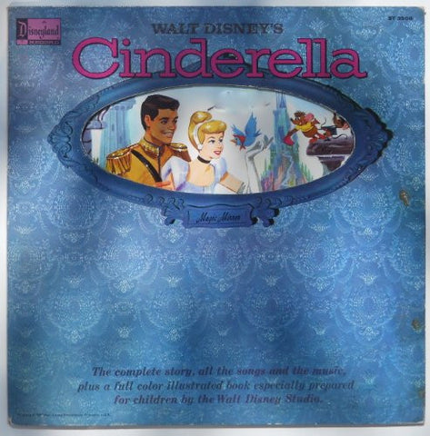 Cinderella's Walt Disney's 1962 the Complete Story, All the Songs and the Music