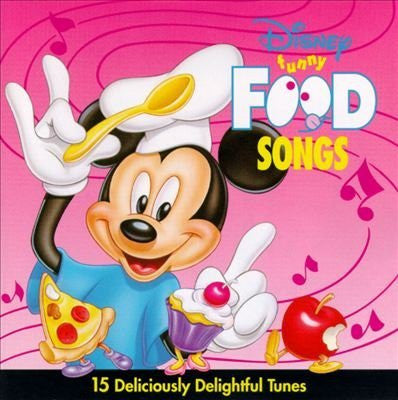 Disney's Food Songs by Various Artists (1994-02-22)
