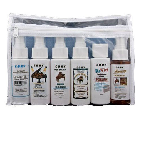 Piano Detailing Kit - 6 Phenomenal Cory Care Products in One Kit!