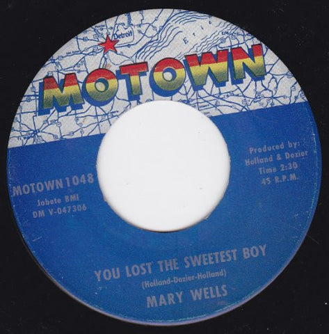 "You Lost The Sweetest Boy/What's Easy For Two Is So Hard For One (7""/45 rpm)"