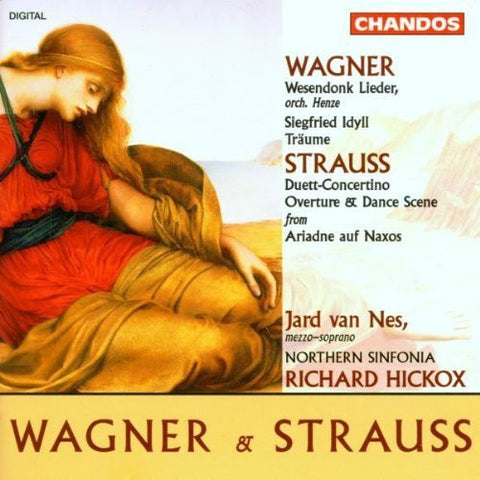 Wagner (arr. Henze): Wesendonck Lieder; Siegfried Idyll / Richard Strauss: Duet-Concertino for clarinet, bassoon, harp & strings.Op. 147; Music from Ariadne auf Naxos (1995) Audio CD