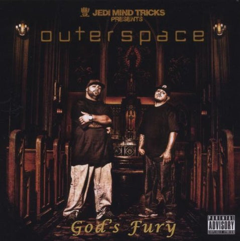 God's Fury by Jedi Mind Tricks Presents (2008) Audio CD