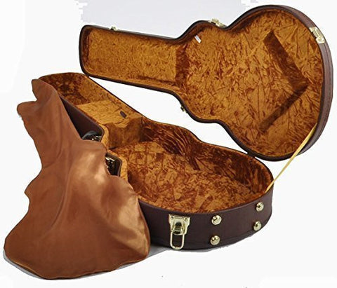 Douglas EGC-450LP Brown/Gold Les Paul Case