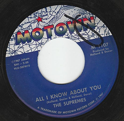 "45vinylrecord The Happening/All I Know About You (7""/45 rpm)"
