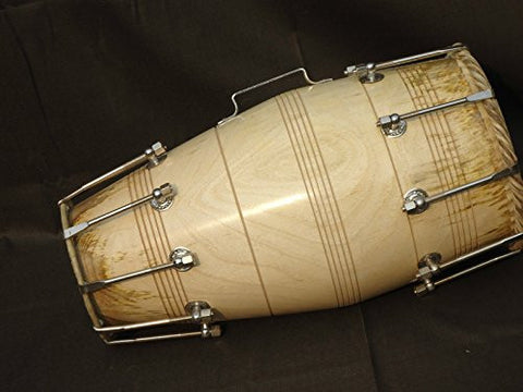 SG Musical Special Gajra Dholak/Dholki, Mango Wood, Bolt Tuned, 5 item's Free