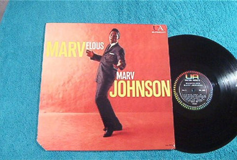 Marvelous Marv Johnson: Vinyl LP: (1960)