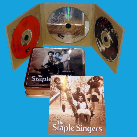 The Staple Singers Stax Box: 3 Full Albums: Be What You Are/ The Staple Swingers/ Be Altitude: Respect Yourself