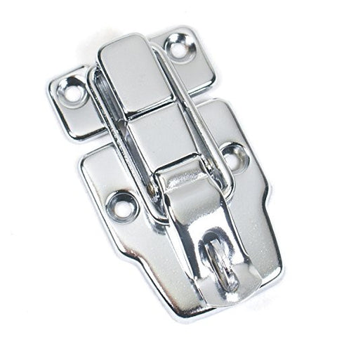 (E24) Drawbolt Closure Latch for Guitar Case /musical cases ,6418 Chrome