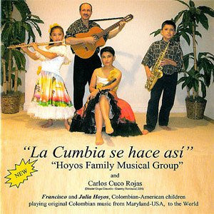 La Cumbia se hace asi - Colombian Latin Music in Spanish