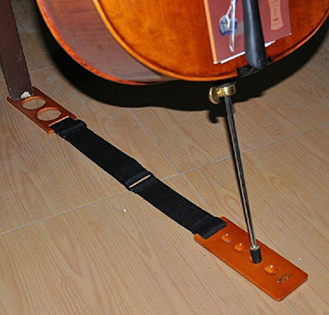 Wood Cello End Pin Rest,D.BASS Artino Stopper Holder, Adjustable
