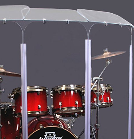 Drum Shield, Drum Shields, Drum Sceen 6 ft x 12 ft DS6D with Flexible Hinges