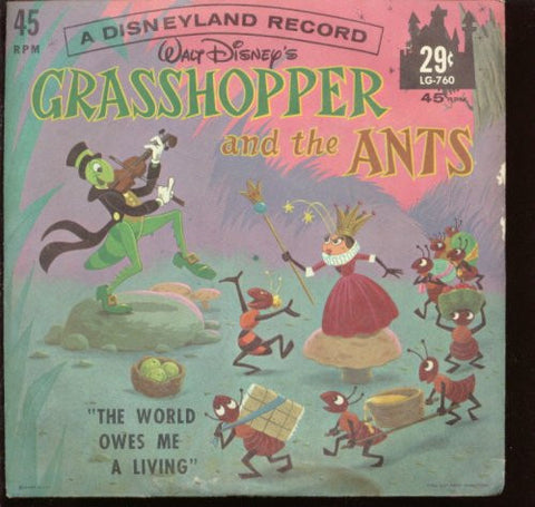 Grasshopper and the Ants [45 Record]