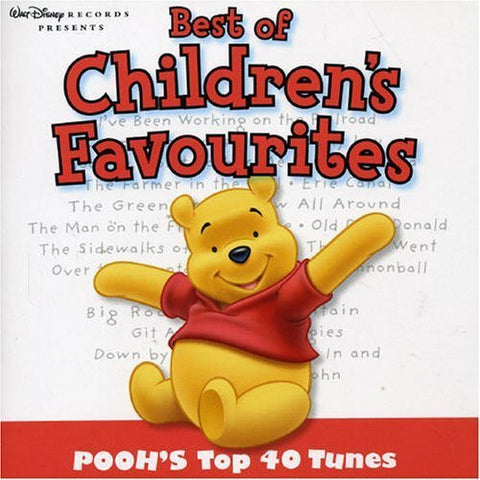 Best Of Children's Favourites - Pooh's Top 40 Tunes by Various Artists (2005-10-23)