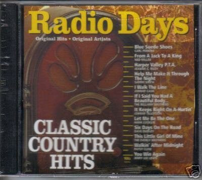 Radio Days Classic Country Hits by Unknown (0100-01-01?