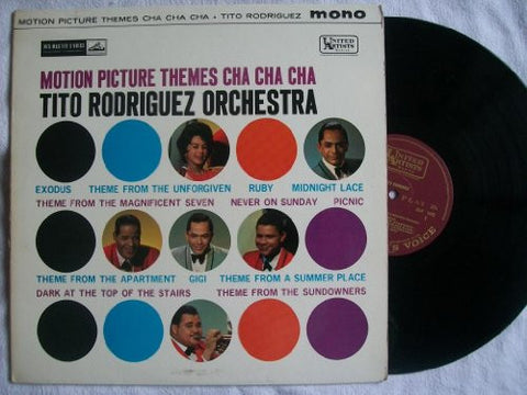 TITO RODRIGUEZ Motion Picture Themes Cha Cha Cha vinyl LP